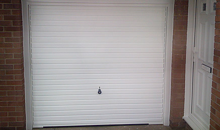 Garage Doors White & DIRECT WINDOWS NORTH EAST | Garage Doors Roller Doors | North ...